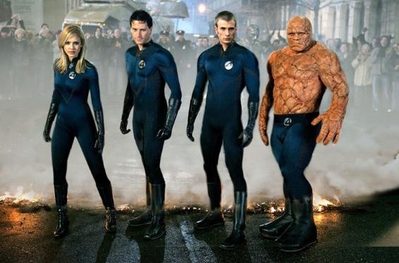 Fantastic Four 2005 - фантастическая четвёрка