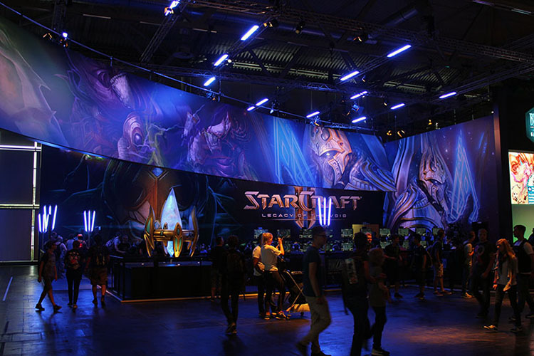 Starcraft 2 LOTV - gamescom 2015