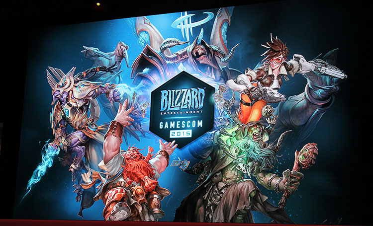 Blizzard - gamescom 2015
