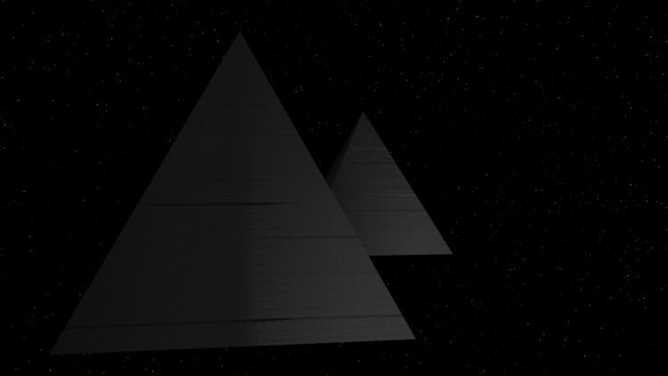 Чёрная пирамида - путь в темноту