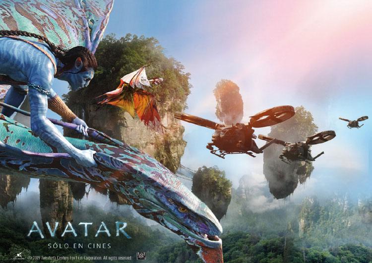 Аватар - постер фильма