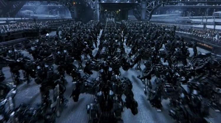 Мехи Матрица революция