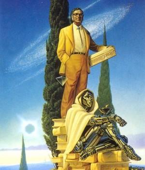 Айзек Азимов - робот