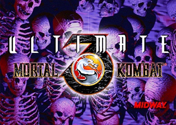 Ultimate Mortal kombat logo
