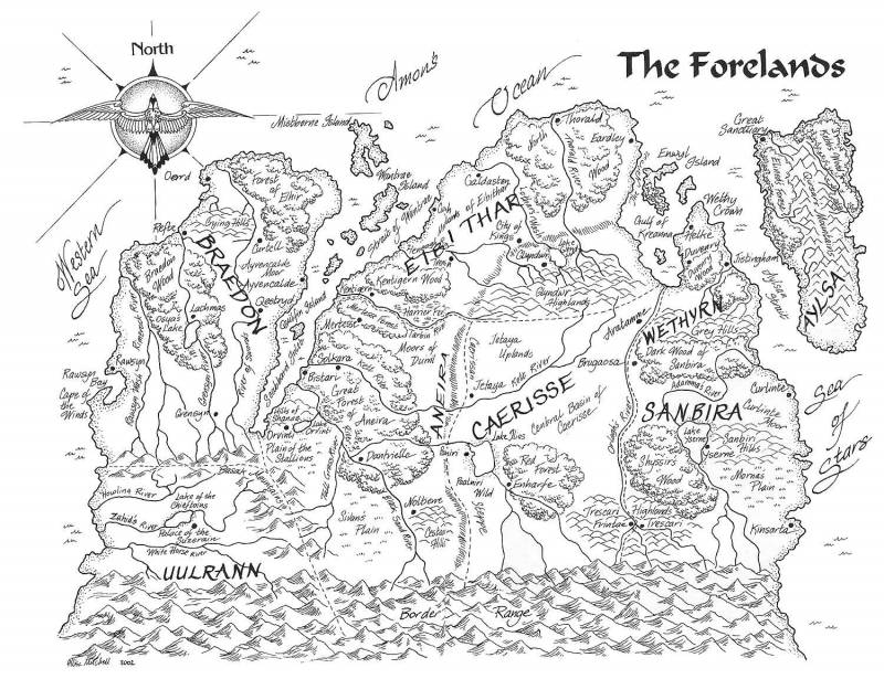 The_Forelands_map