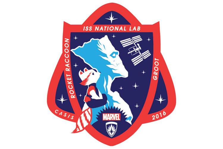 Стражи галактики эмблема НАСА