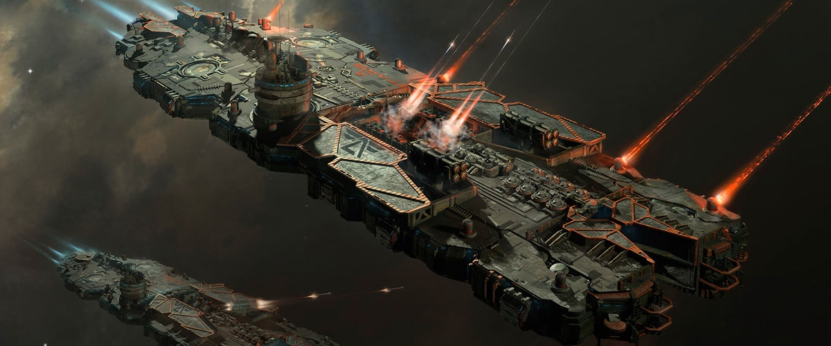 Battlecruiser on a mission