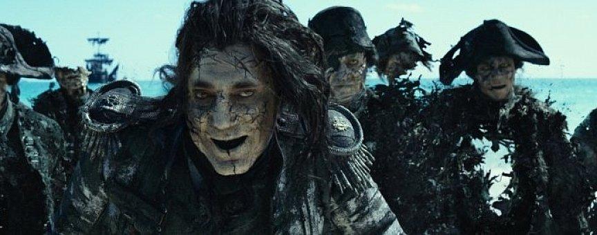 """«Мертвецы не рассказывают сказки» - очередной фильм про """"пиратов"""""""