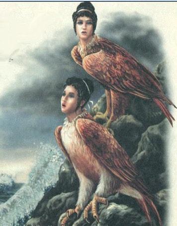 женщины-птицы