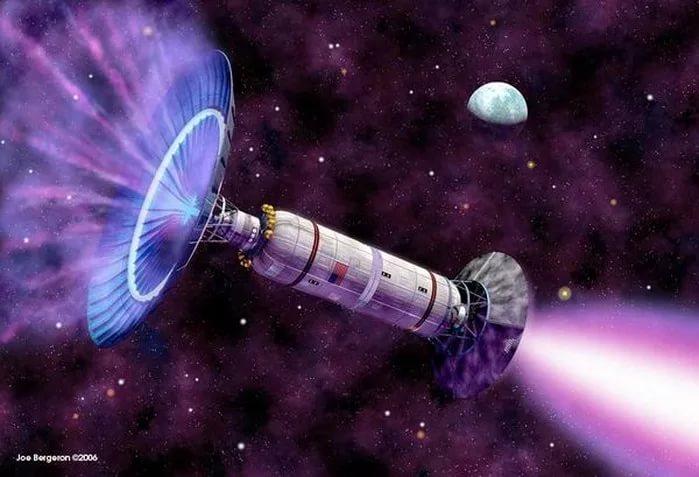 Фотонный космический транспорт - фотонный двигатель