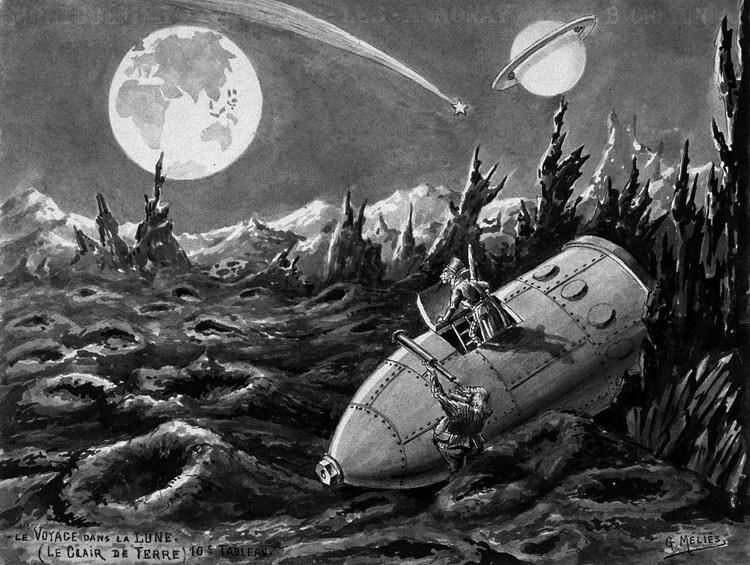 луна - посадка