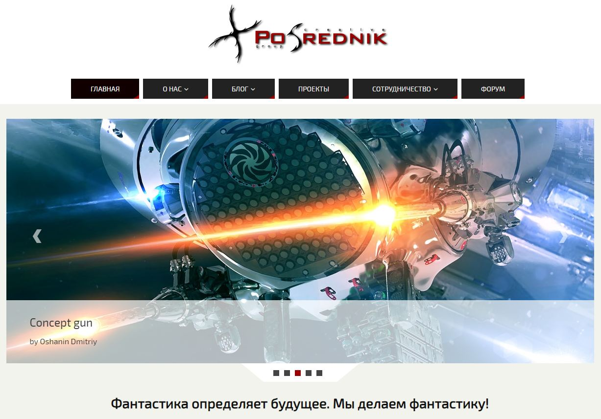 Website Posrednik CG
