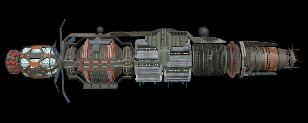 """Обновление станции """"Вавилон-6"""" - продолжение 13"""