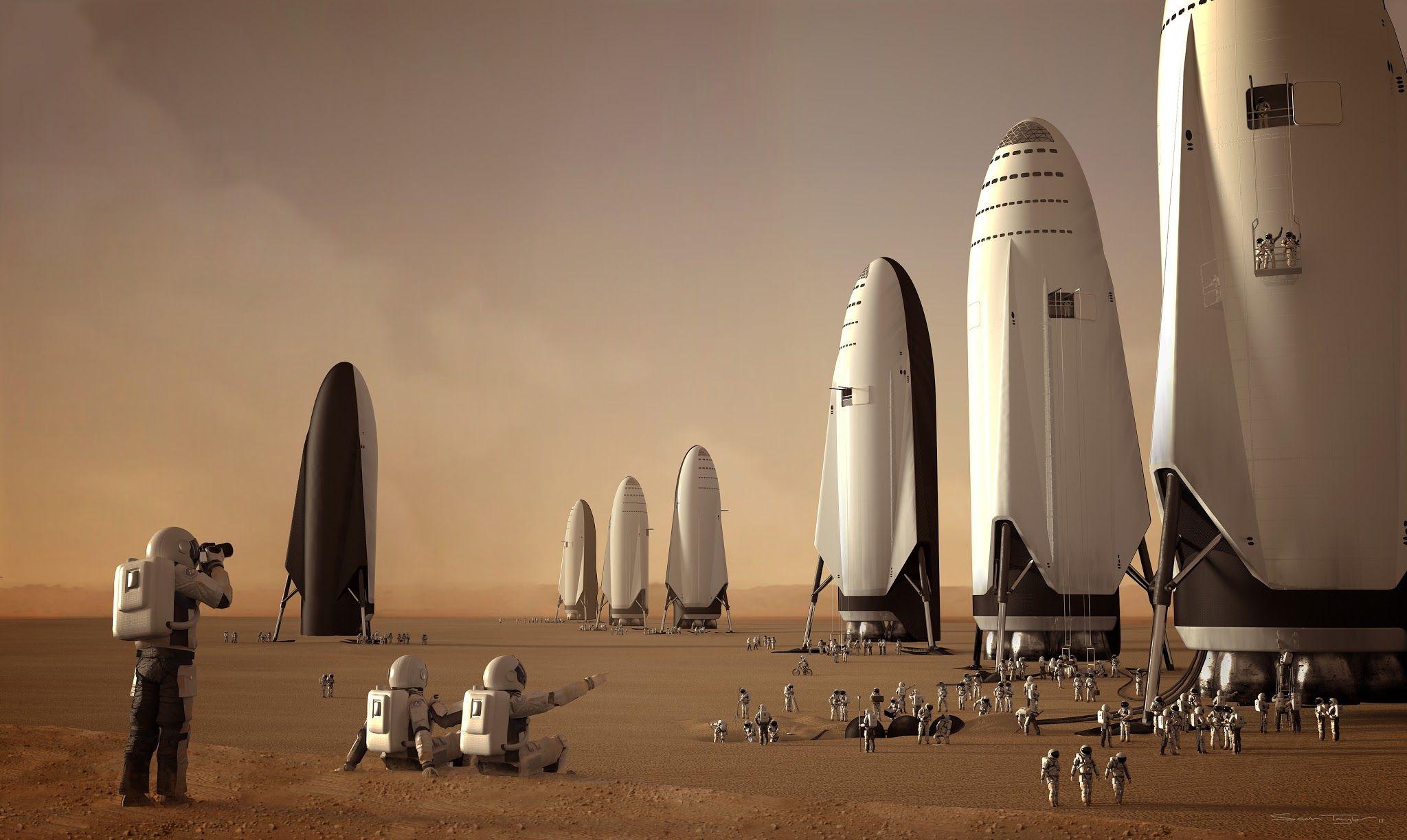 Кирилл Размыслович - колонизация Марса