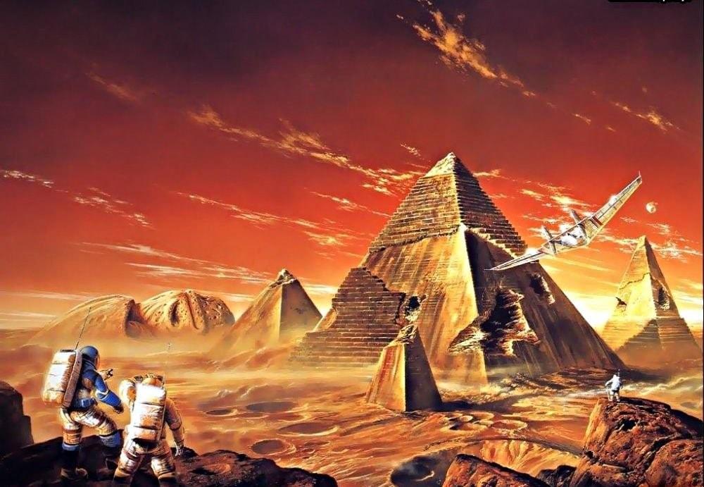 ксеноархеология пирамиды