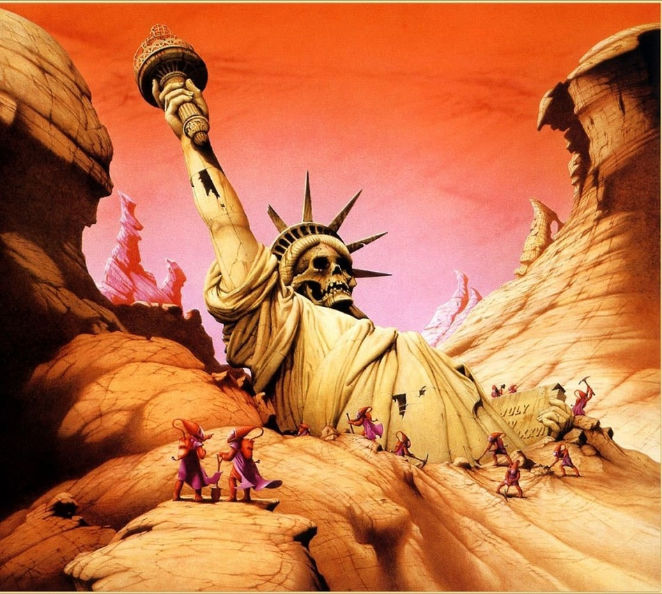 ксеноархеология - статуя свободы