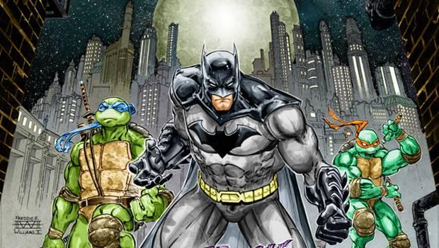 Бэтмен против Черепашек-ниндзя