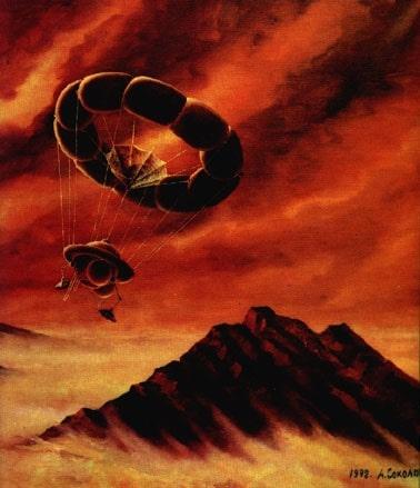 Венера - посадка зонда