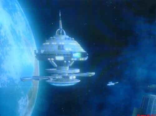 Гравилёт - космическая станция