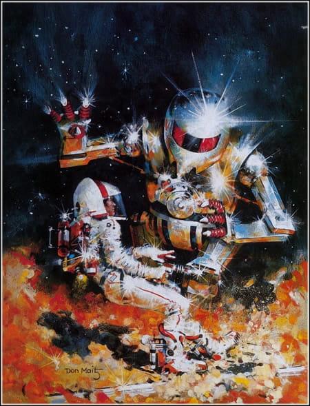 Меркурий - робот и человек