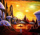 Меркурий - поселение на поверхности