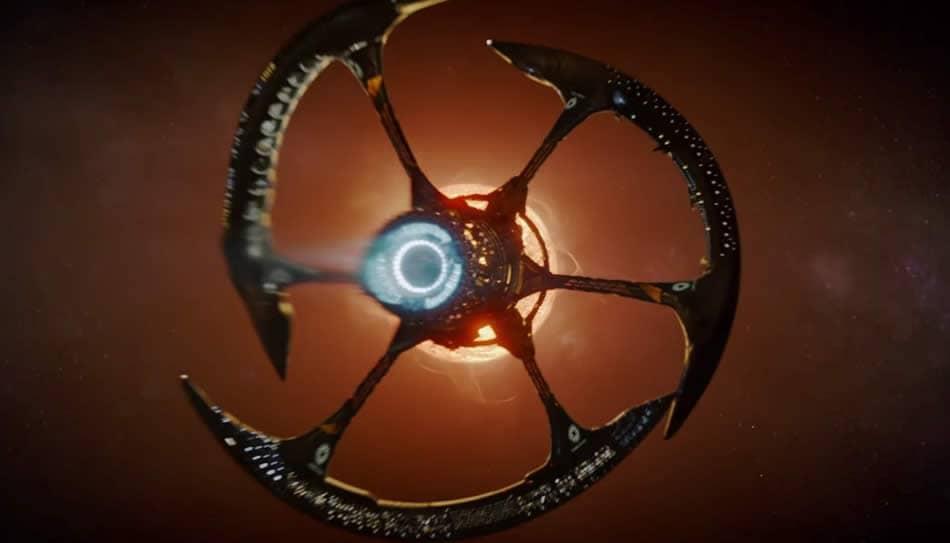 Космический корабль-ковчег «Авалон» из кинофильма «Пассажиры» (США, 2016).