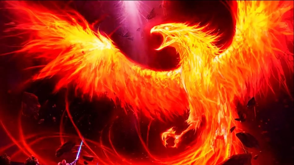 Феникс - пламенная птица
