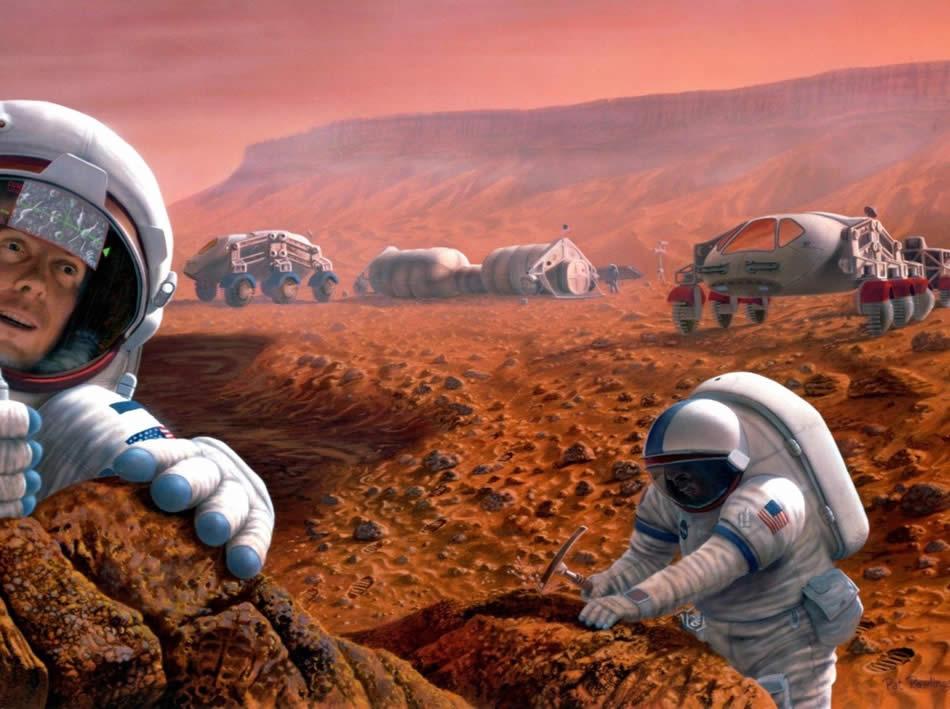 Марс - экспедиция