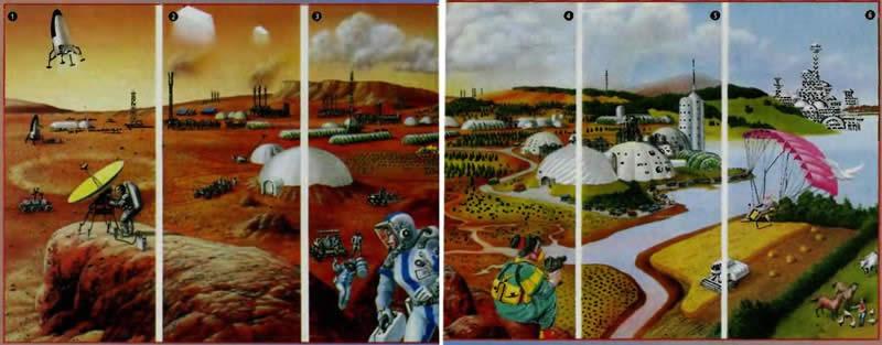 Марс - терраформирование