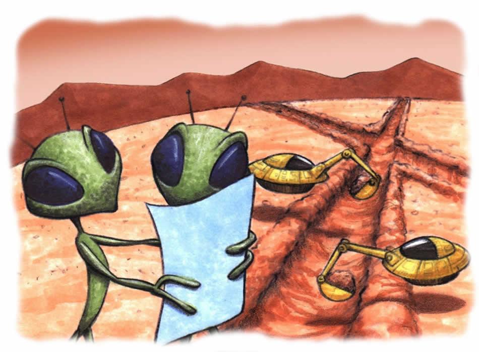 Марс - каналы