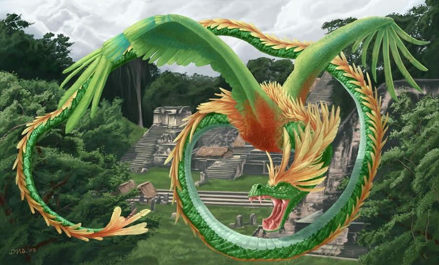 Змеи и серпентоиды - дракон