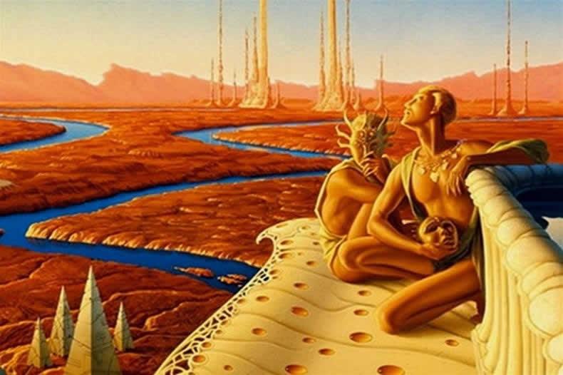 Марс - марсиане