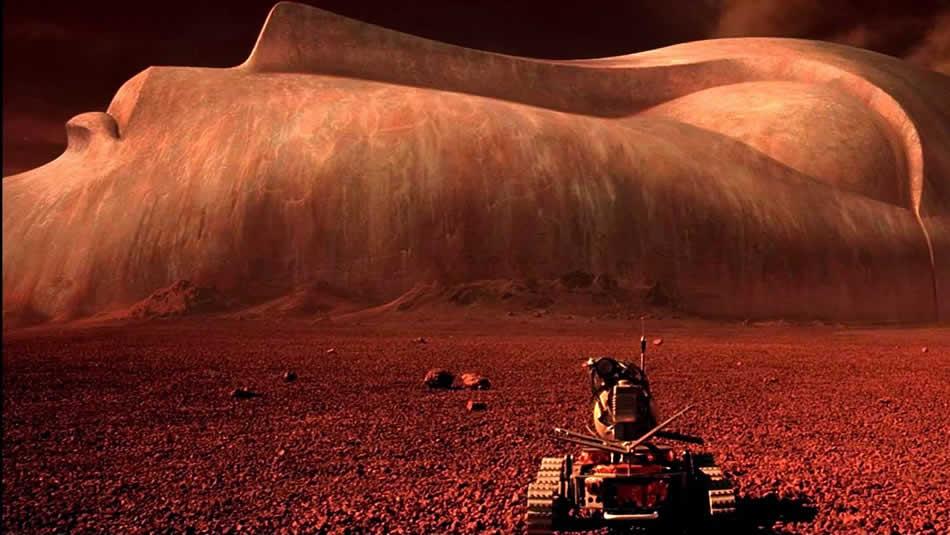 Марс - лицо