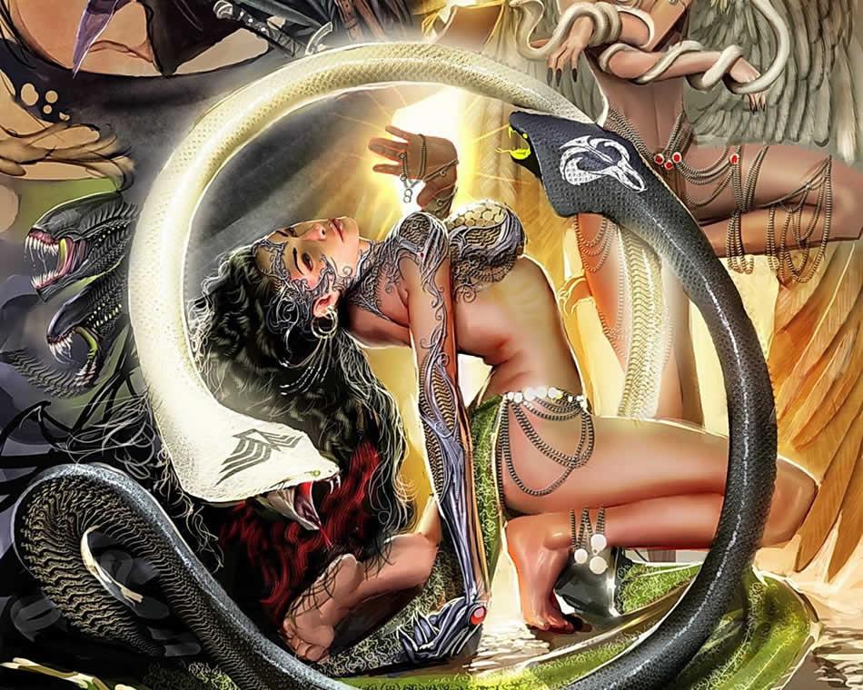 Змеи и серпентоиды