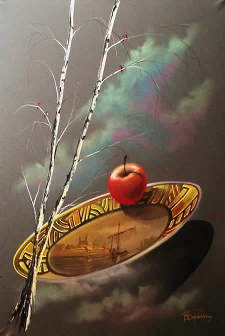 Телевидение - яблочко на тарелочке