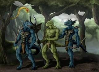 Ящеры и рептилоиды