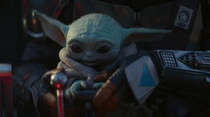 Мандалорец - маленький Йода