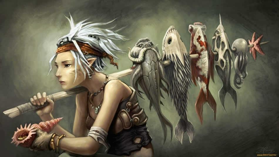 Рыбы и ихтиоиды