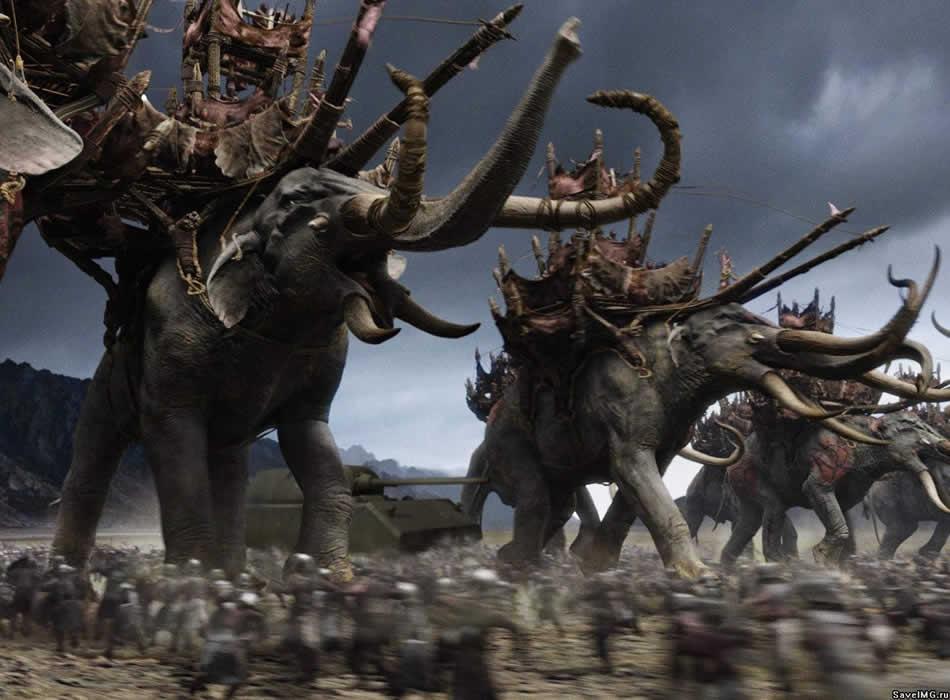 Слоны из Властелина колец