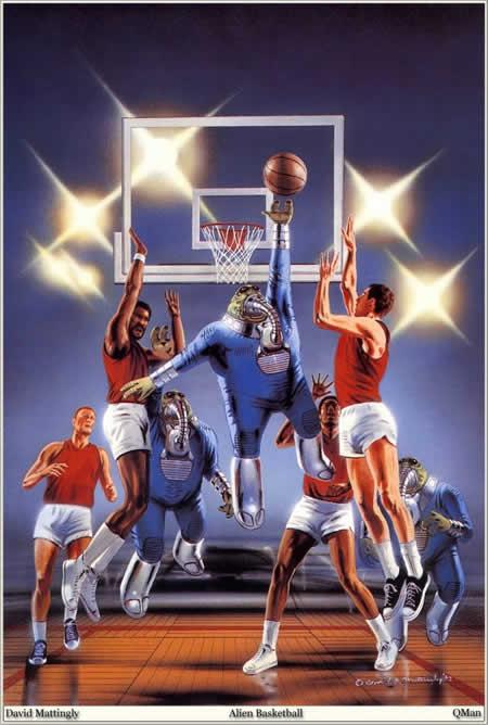 Спорт - инопланетный баскетбол