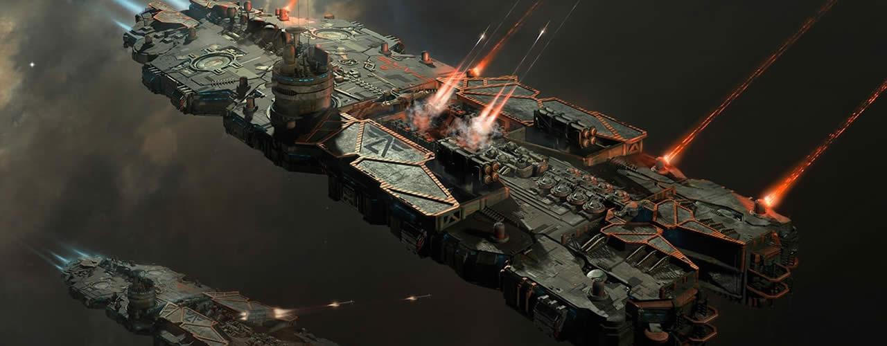 Battlecruiser on a mission