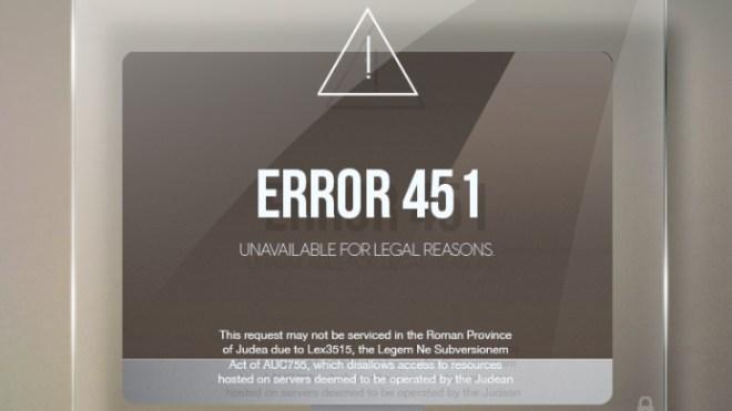 HTTP 451