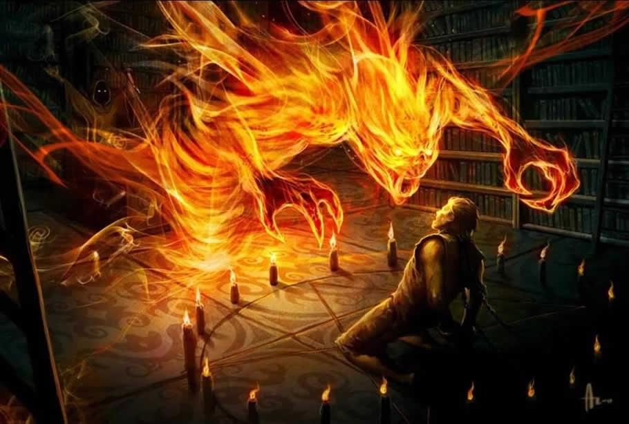 Огонь в фантастике 1