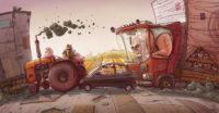 Автомобили в фантастике