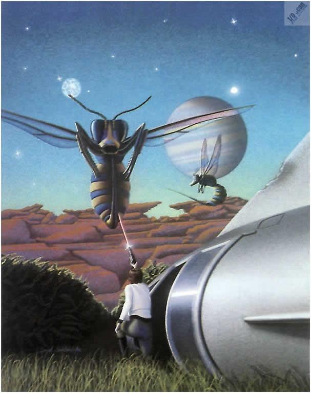Пчёлы в фантастике