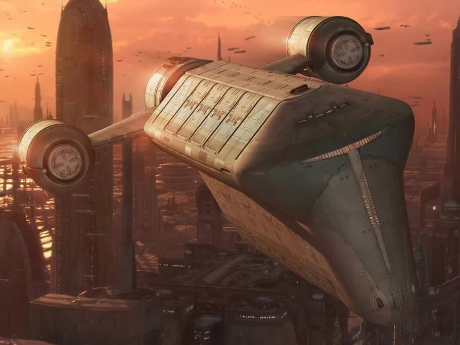 Транспорт в фантастике