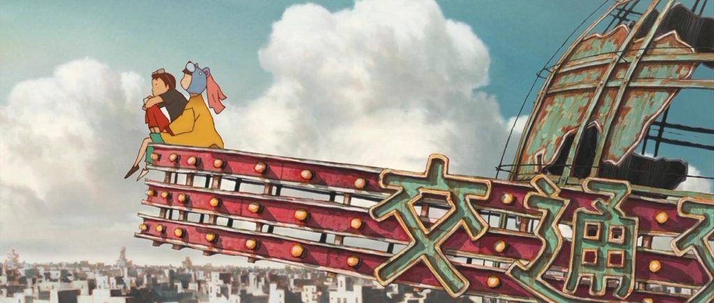 """""""Железобетон"""" - нестандартное аниме от Studio 4°C"""