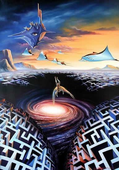 Лабиринты - из мифов в фантастику