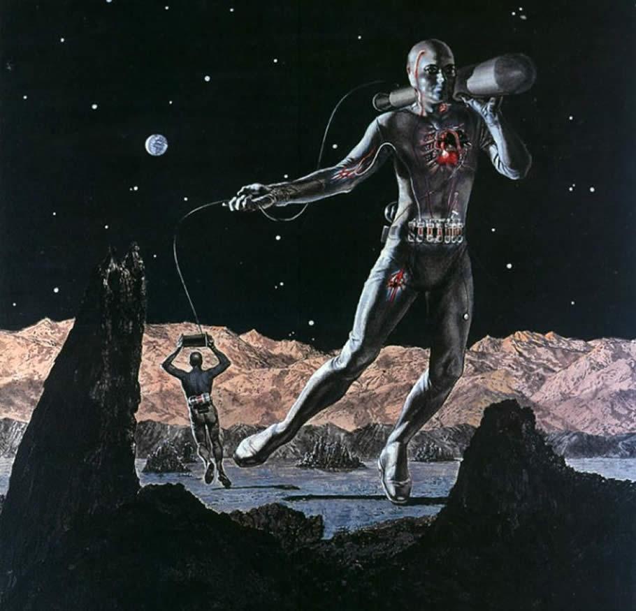 Космониты - потомки землян, живущие на других планетах