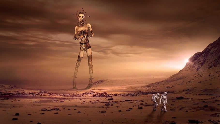 Марсиане в представлении фантастов